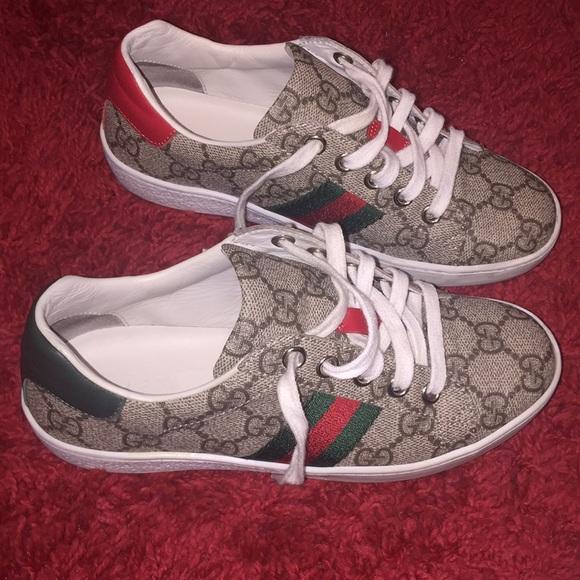 Childrens Ace Gg Supreme Sneaker Gucci